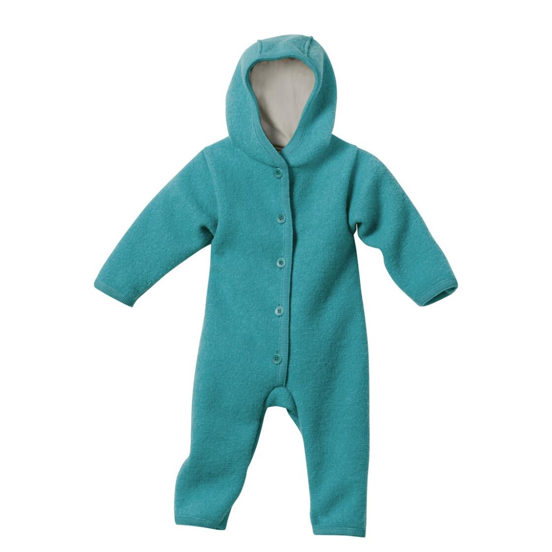 98//104 Gr Disana Baby und Kinder Wollwindelhose aus Reiner Bio-Merinowolle Blau